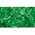Confettis Rectangle 55 x 17mm Verts