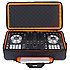 U9104 BL Ultimate Midi Controller Backpack Large Black/Orange inside MK2