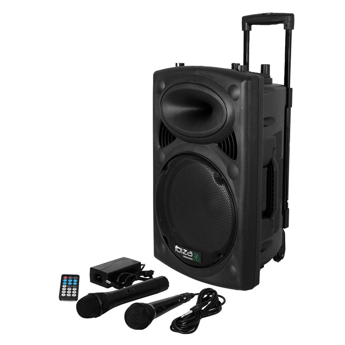 Port8vhf Bt Portable Speaker Ibiza Sonovente Com En