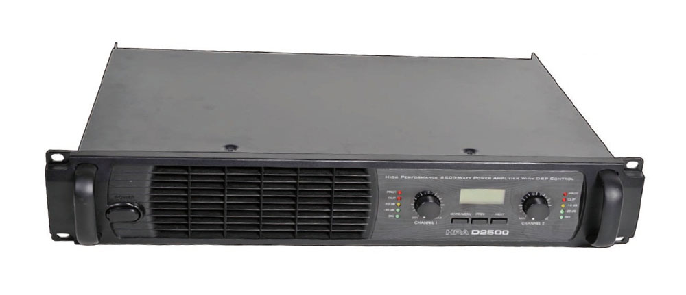 Amplificateurs HPA D2500