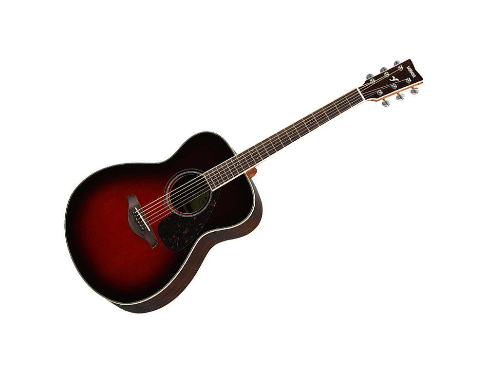 Yamaha FG830 TBS Dreadnought Acoustic Guitar Tobacco Brown Sunburst Rosewood Body