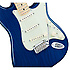 Deluxe Stratocaster Sapphire Blue Transparent