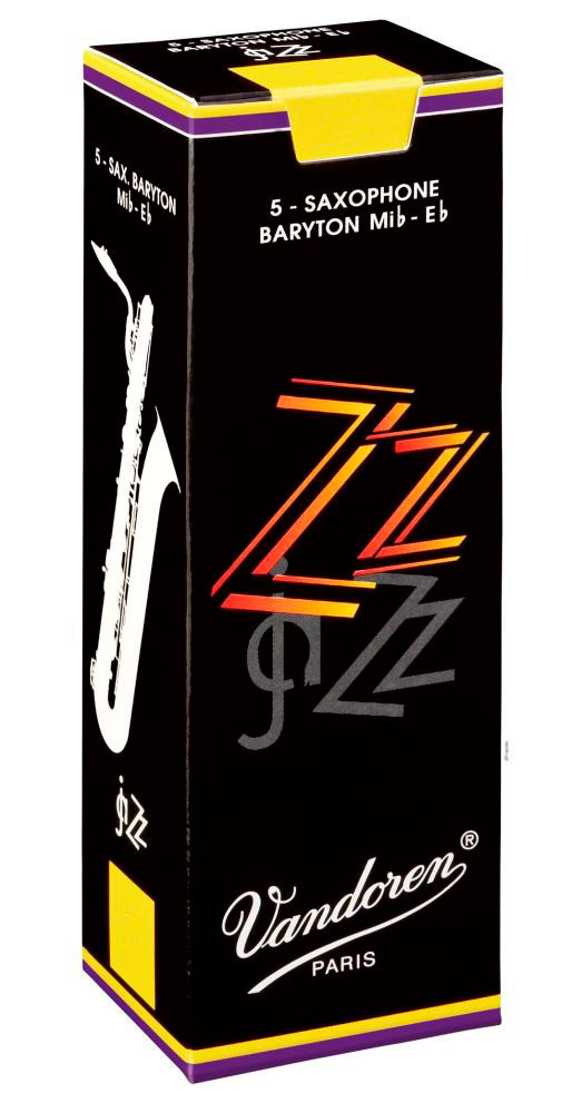 Vandoren SR4435 ZZ 5 Anches pour Saxophone Baryton 3,5