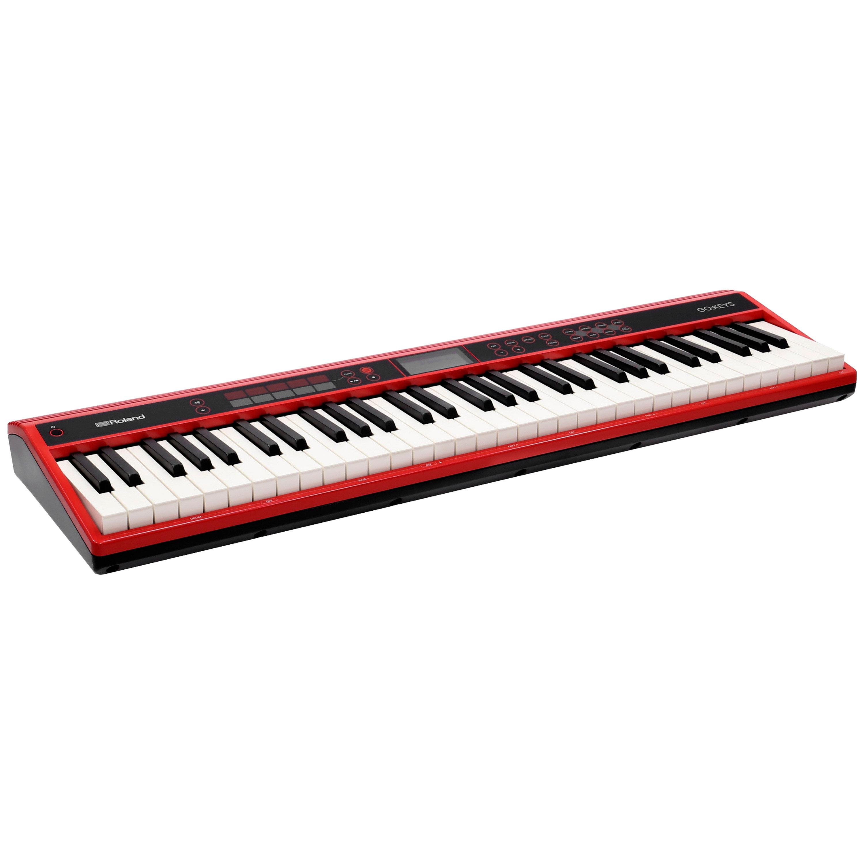 Go Keys Go 61k Portable Piano Roland Sonovente Com En