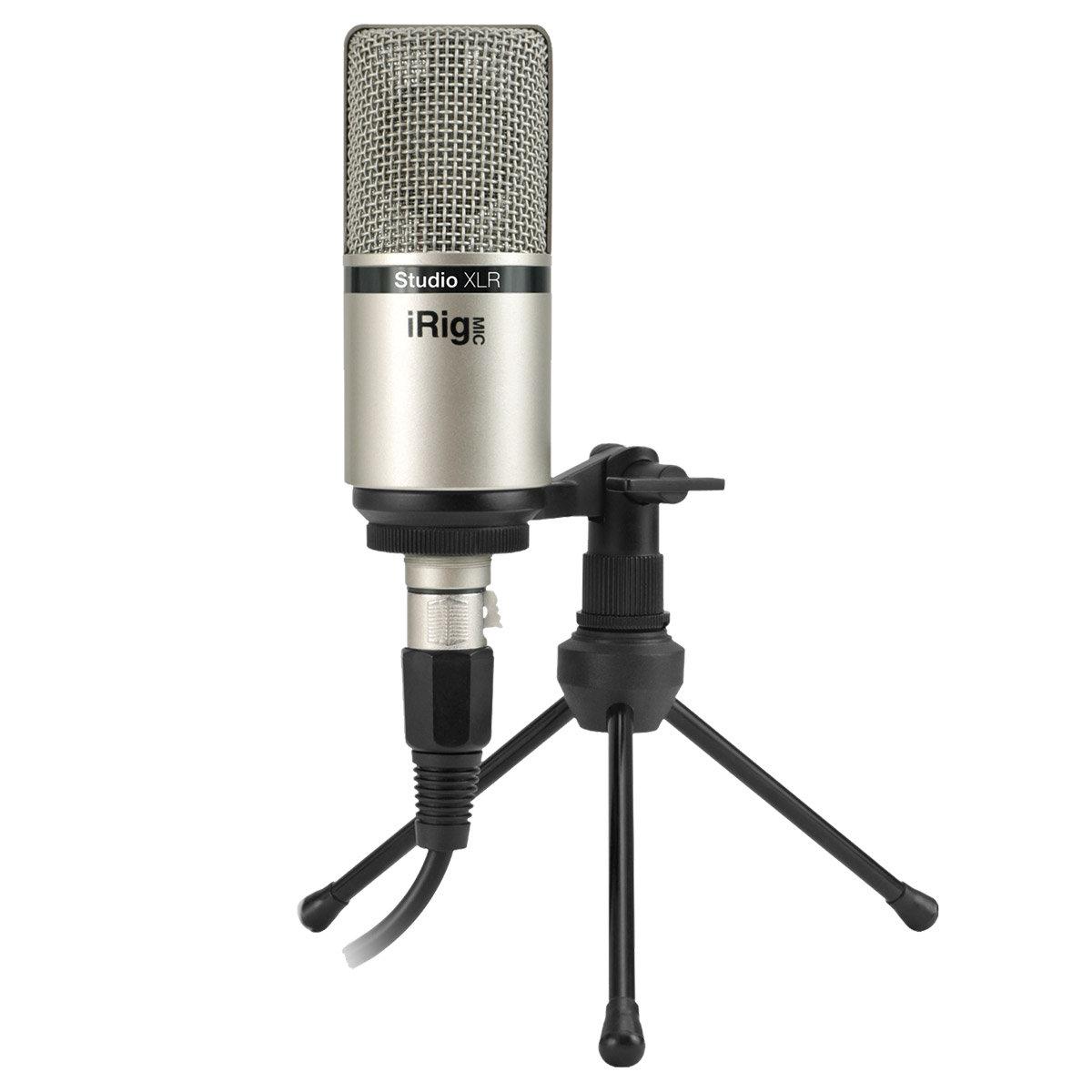 iRig Mic Studio XLR : Micrófono Estático IK Multimédia - SonoVente.com - es