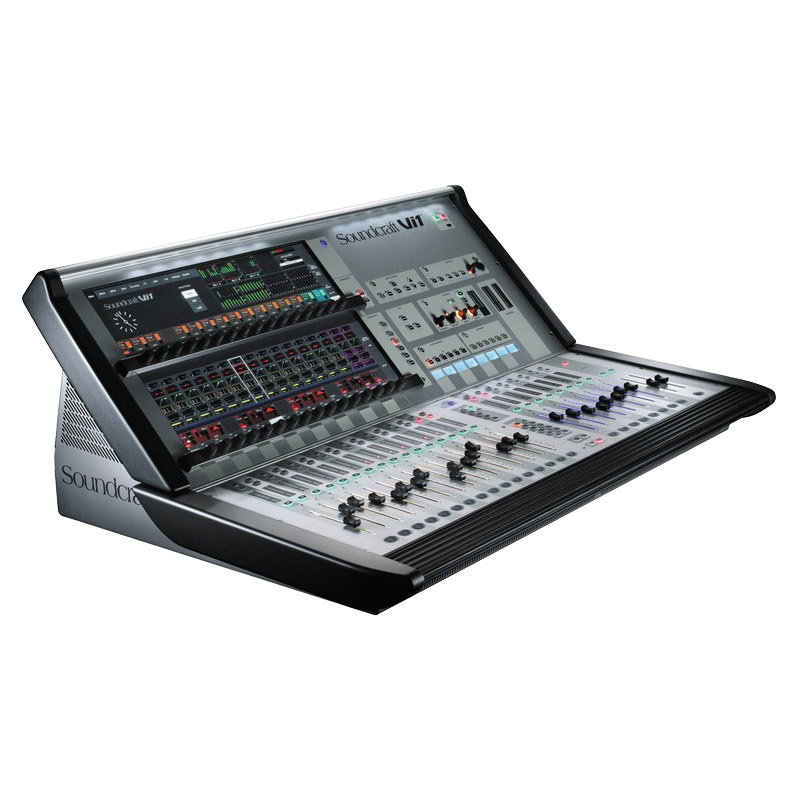 Vi1 Console De Mixage Numerique Soundcraft Sonovente Com