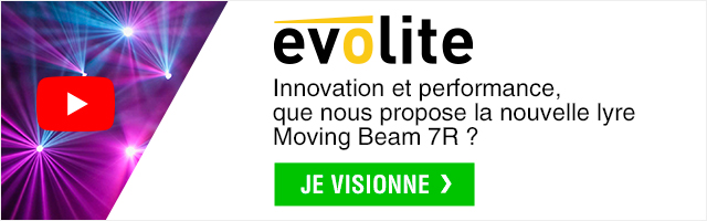 Je visionne - Evolite Moving beam 7R